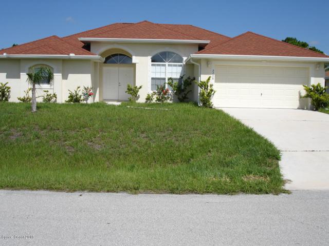 2248 Randall Avenue SE, Palm Bay, FL 32909 (MLS #805647) :: Better Homes and Gardens Real Estate Star