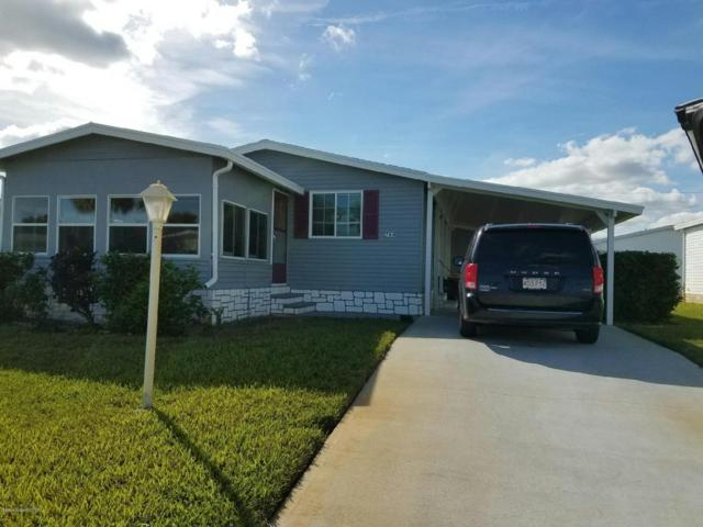 7614 Cedar Bark Road, Micco, FL 32976 (MLS #805738) :: Pamela Myers Realty