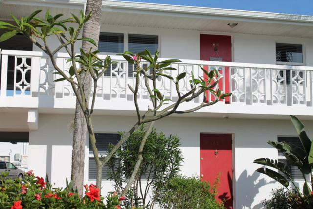 8522 N Atlantic Avenue #68, Cape Canaveral, FL 32920 (MLS #806531) :: Premium Properties Real Estate Services