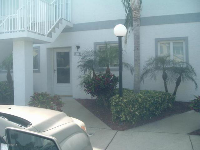 305 Ocean Park Lane #91, Cape Canaveral, FL 32920 (MLS #807569) :: Premium Properties Real Estate Services