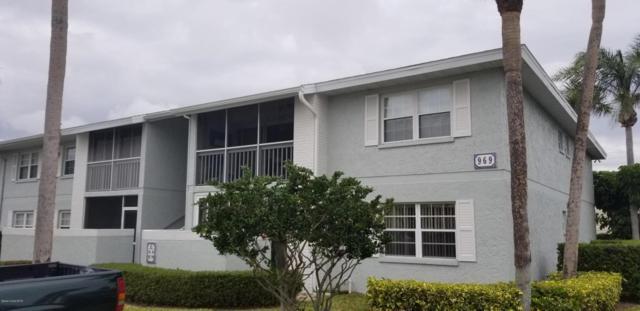 969 Sonesta Avenue NE #107, Palm Bay, FL 32905 (MLS #809470) :: Pamela Myers Realty