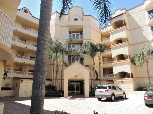 807 Mystic Drive C 404, Cape Canaveral, FL 32920 (MLS #809722) :: Pamela Myers Realty