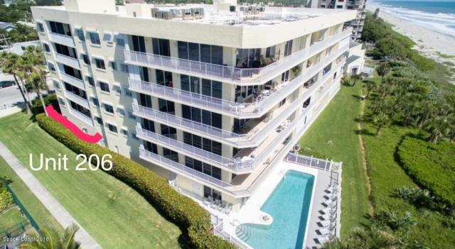 925 N Highway A1a #206, Indialantic, FL 32903 (MLS #809884) :: Premium Properties Real Estate Services
