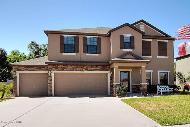 1431 Scout Drive, Rockledge, FL 32955 (MLS #811186) :: Better Homes and Gardens Real Estate Star