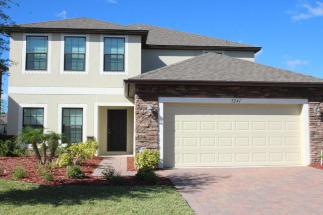 1241 Dillard Drive SE, Palm Bay, FL 32909 (MLS #811211) :: Better Homes and Gardens Real Estate Star