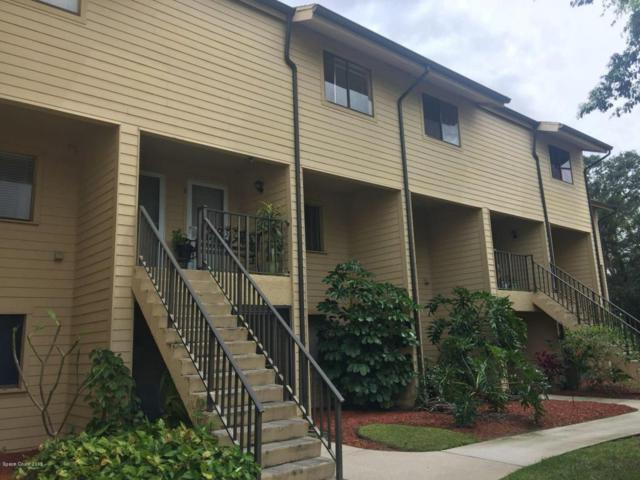 441 N Harbor City Boulevard N #8, Melbourne, FL 32935 (MLS #813173) :: Premium Properties Real Estate Services
