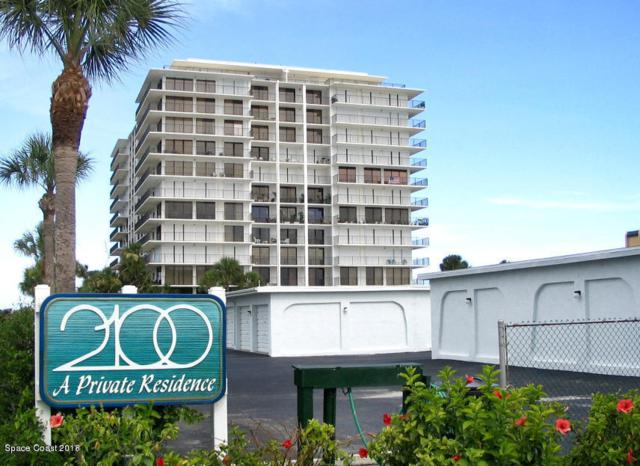 2100 N Atlantic Avenue #906, Cocoa Beach, FL 32931 (MLS #814289) :: Better Homes and Gardens Real Estate Star