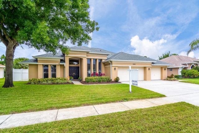 444 Lake Victoria Circle, Melbourne, FL 32940 (MLS #814355) :: Premium Properties Real Estate Services