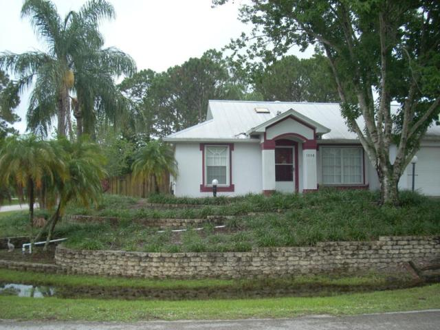 1958 NW Red Bud Circle NW, Palm Bay, FL 32907 (MLS #814364) :: Pamela Myers Realty