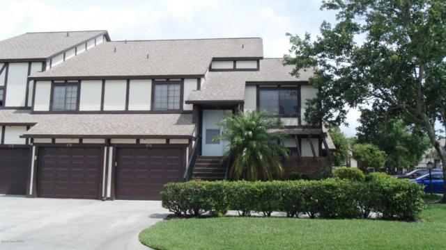 674 Greenwood Manor Circle #25, West Melbourne, FL 32904 (MLS #815346) :: Better Homes and Gardens Real Estate Star