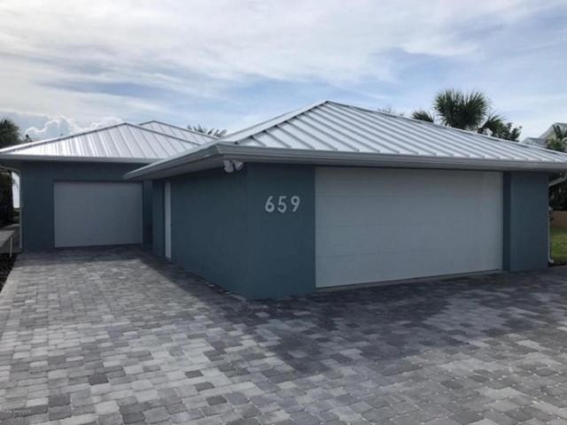 659 S Atlantic Avenue, Cocoa Beach, FL 32931 (MLS #815919) :: Better Homes and Gardens Real Estate Star