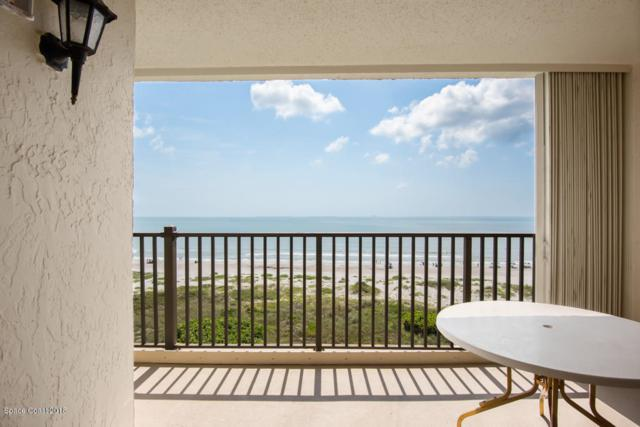 1860 N Atlantic Avenue #705, Cocoa Beach, FL 32931 (MLS #817316) :: Better Homes and Gardens Real Estate Star