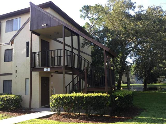 7821 Maplewood Drive #406, West Melbourne, FL 32904 (MLS #817914) :: Premium Properties Real Estate Services
