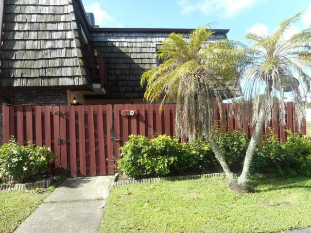 52 Piney Branch Way D, West Melbourne, FL 32904 (MLS #818005) :: Better Homes and Gardens Real Estate Star