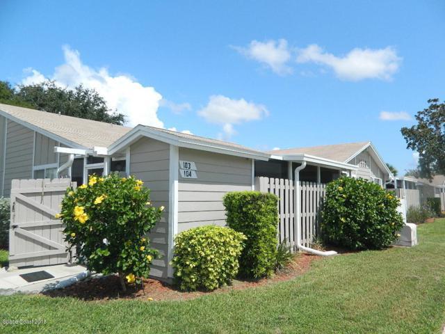 1937 Quail Ridge Court #104, Cocoa, FL 32926 (MLS #818264) :: Premium Properties Real Estate Services