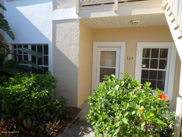 109 La Costa Street #503, Melbourne Beach, FL 32951 (MLS #818339) :: Premium Properties Real Estate Services