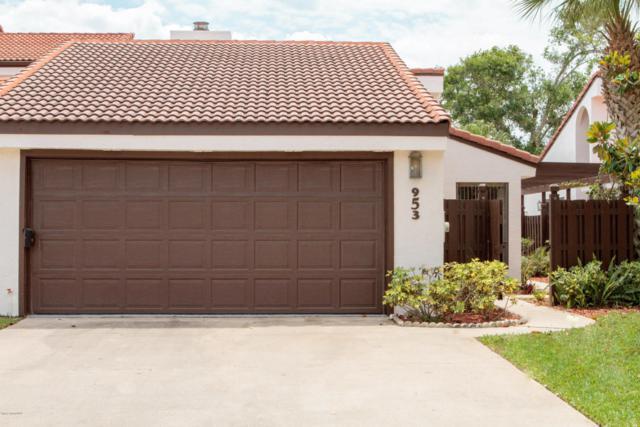 953 Osprey Drive, Melbourne, FL 32940 (MLS #818959) :: Pamela Myers Realty