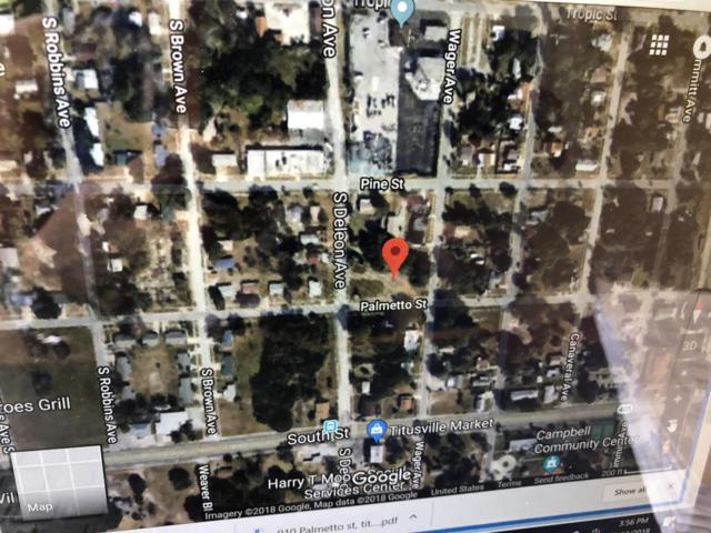 910 Palmetto Street, Titusville, FL 32796 (MLS #819145) :: Pamela Myers Realty