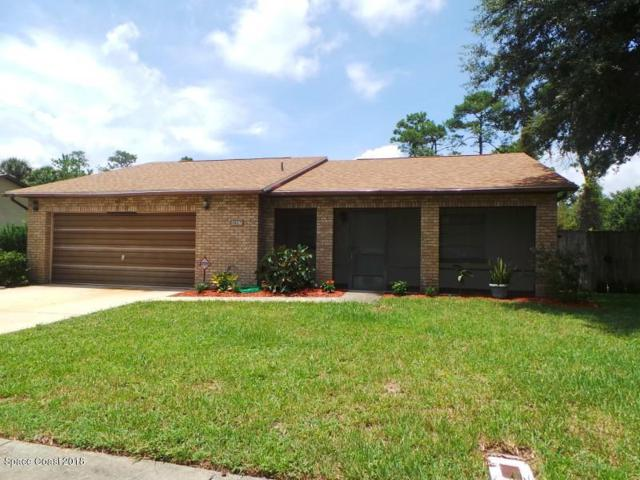 3827 Parapet Drive, Cocoa, FL 32926 (MLS #819771) :: Premium Properties Real Estate Services