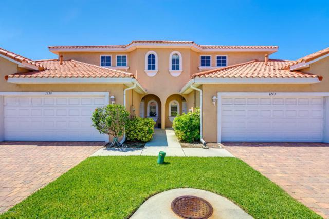 1243 Etruscan Way #103, Indian Harbour Beach, FL 32937 (MLS #820745) :: Premium Properties Real Estate Services