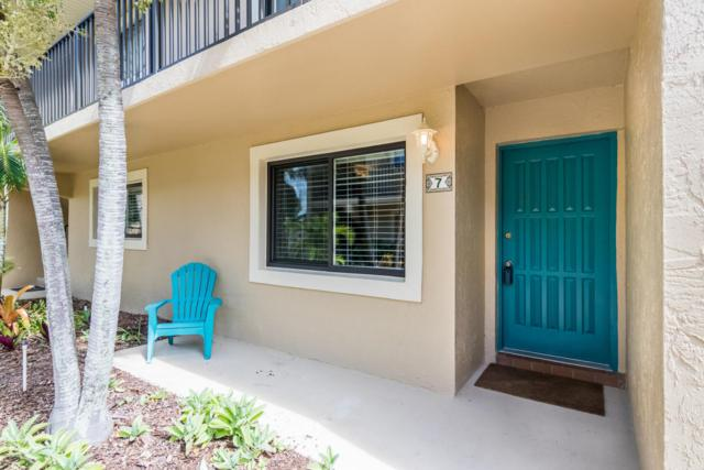 110 Desoto Parkway #7, Satellite Beach, FL 32937 (MLS #821181) :: Better Homes and Gardens Real Estate Star