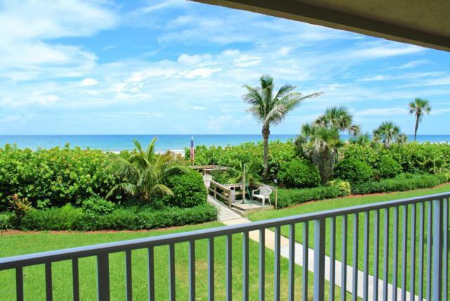 1525 S Atlantic Avenue #205, Cocoa Beach, FL 32931 (MLS #821840) :: Better Homes and Gardens Real Estate Star