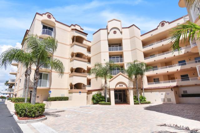 806 Mystic Drive D405, Cape Canaveral, FL 32920 (MLS #822809) :: Pamela Myers Realty