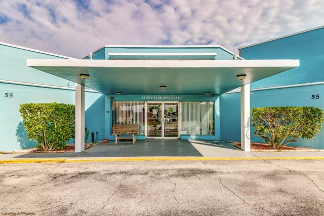 55 Sea Park Boulevard #416, Satellite Beach, FL 32937 (MLS #824020) :: Pamela Myers Realty