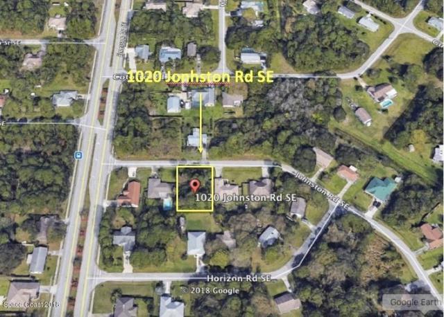 1020 Johnston Road SE, Palm Bay, FL 32909 (MLS #824471) :: Pamela Myers Realty