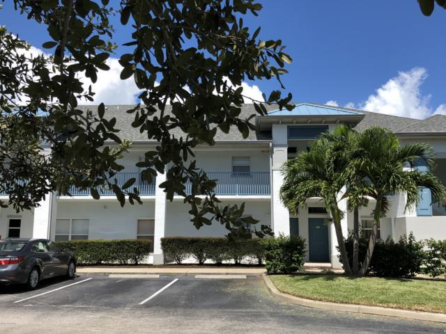 120 Portside Avenue #104, Cape Canaveral, FL 32920 (MLS #824641) :: Pamela Myers Realty