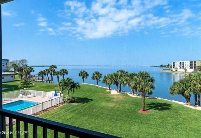 3873 S Banana River Boulevard #301, Cocoa Beach, FL 32931 (MLS #827728) :: Premium Properties Real Estate Services