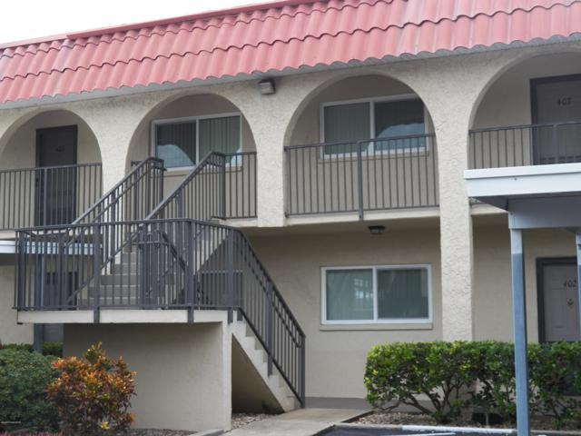 201 St . Lucie Lane #407, Cocoa Beach, FL 32931 (MLS #829145) :: Pamela Myers Realty