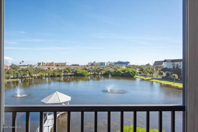3613 S Banana River Boulevard #407, Cocoa Beach, FL 32931 (MLS #831706) :: Platinum Group / Keller Williams Realty