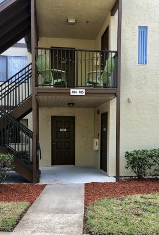 7821 Maplewood Drive #404, West Melbourne, FL 32904 (MLS #832343) :: Premium Properties Real Estate Services