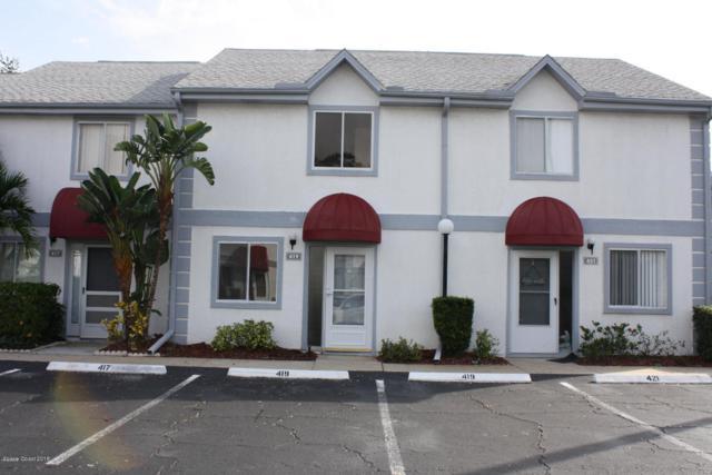 419 Seaport Boulevard #153, Cape Canaveral, FL 32920 (MLS #833266) :: Platinum Group / Keller Williams Realty