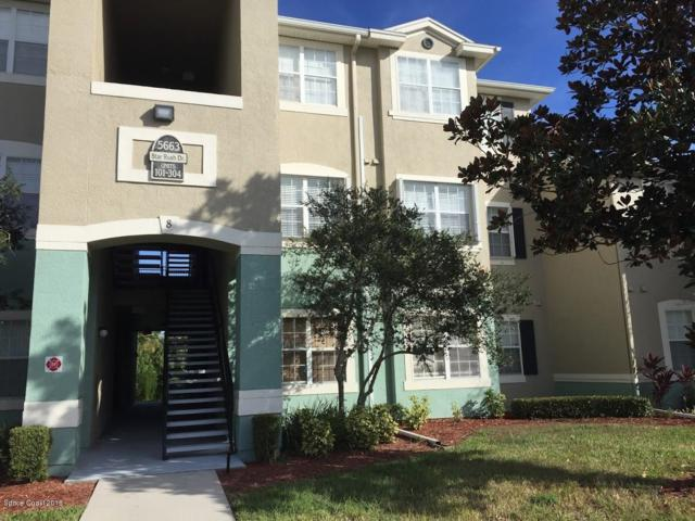 5663 Star Rush Drive #205, Melbourne, FL 32940 (MLS #833695) :: Pamela Myers Realty