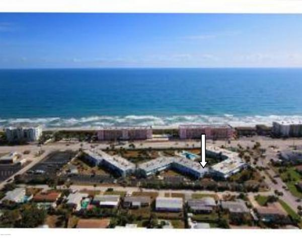 55 Sea Park Boulevard #301, Satellite Beach, FL 32937 (MLS #833894) :: Pamela Myers Realty