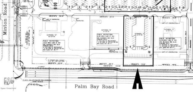 145 Palm Bay Road Outparcel, Melbourne, FL 32904 (MLS #834768) :: Blue Marlin Real Estate