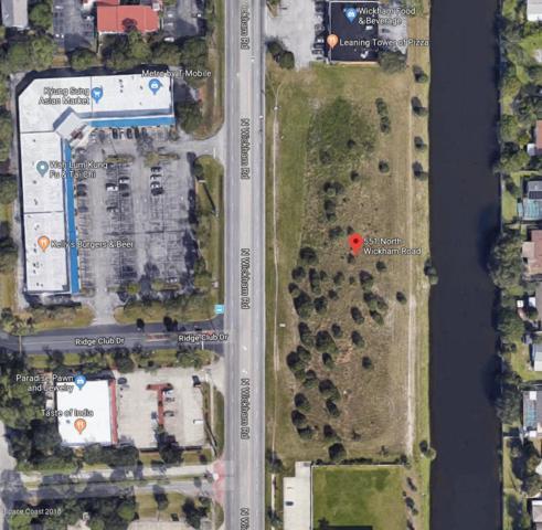 551 N Wickham Road, Melbourne, FL 32935 (MLS #834781) :: Coral C's Realty LLC
