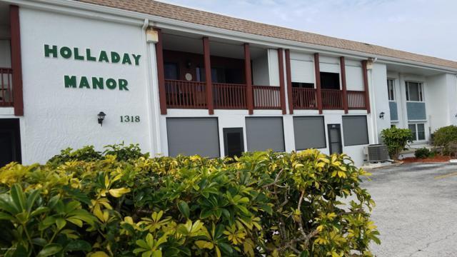 1318 S Miramar Avenue #208, Indialantic, FL 32903 (MLS #835098) :: Blue Marlin Real Estate