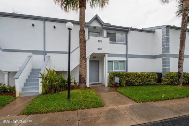 114 Beach Park Lane #24, Cape Canaveral, FL 32920 (MLS #835927) :: Pamela Myers Realty
