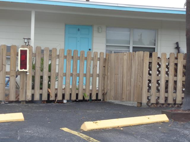 490 S Orlando Avenue #6, Cocoa Beach, FL 32931 (MLS #836308) :: Blue Marlin Real Estate