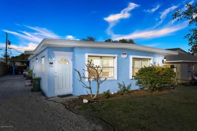 226 Johnson Avenue, Cape Canaveral, FL 32920 (MLS #836407) :: Premium Properties Real Estate Services