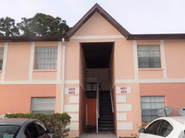 4927 Pinewood Drive NE #8, Palm Bay, FL 32905 (MLS #836719) :: Pamela Myers Realty