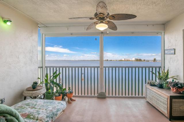 3601 S Banana River Boulevard A403, Cocoa Beach, FL 32931 (MLS #836757) :: Premium Properties Real Estate Services