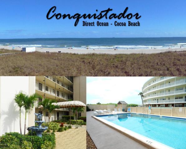 4100 Ocean Beach Boulevard #312, Cocoa Beach, FL 32931 (MLS #837058) :: Premium Properties Real Estate Services