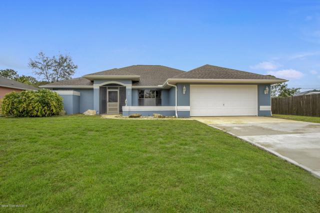 795 Koutnik Road SE, Palm Bay, FL 32909 (MLS #837227) :: Coral C's Realty LLC