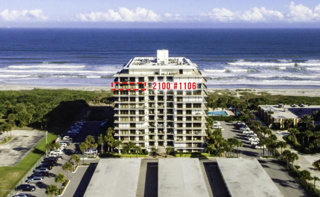 2100 N Atlantic Avenue #1106, Cocoa Beach, FL 32931 (MLS #837243) :: Blue Marlin Real Estate