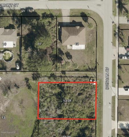 000 Duncan Avenue Parcel 13A, Port Saint John, FL 32927 (MLS #837329) :: Blue Marlin Real Estate