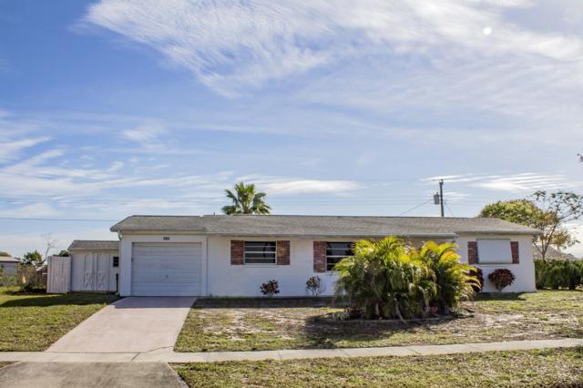 609 Plymouth Street, Melbourne, FL 32935 (MLS #837443) :: Blue Marlin Real Estate